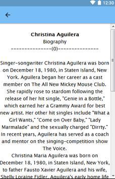 Christina Aguilera screenshot 6