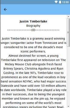 Justin Timberlake screenshot 2
