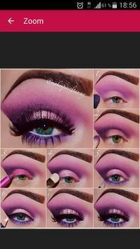 Eye makeup tutorials screenshot 1