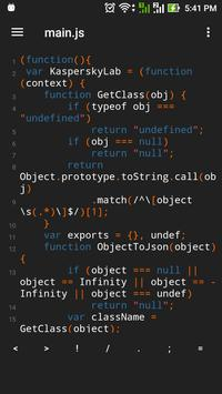 Sublime Text Editor For Android poster