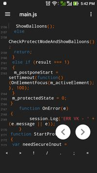 Sublime Text Editor For Android screenshot 1