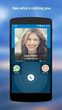 कॉलर आईडी (Caller ID), डायलर और एड्रेस बुक: Eyecon पोस्टर