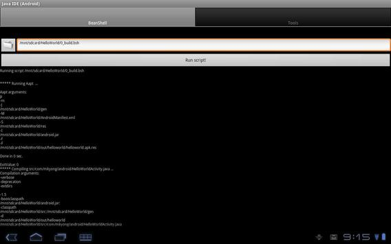 Droidde Beta screenshot 1