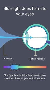 目の保護ーーブルーライト軽減 あなたの不眠を解消します apk スクリーンショット