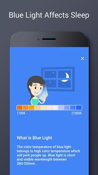 Filtro de Luz Azul - Modo Noturno, Dormir Bem apk imagem de tela