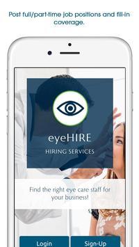 eyeHire poster