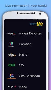 Liberty Live TV beta poster