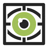Eye Retina Scanner. icon