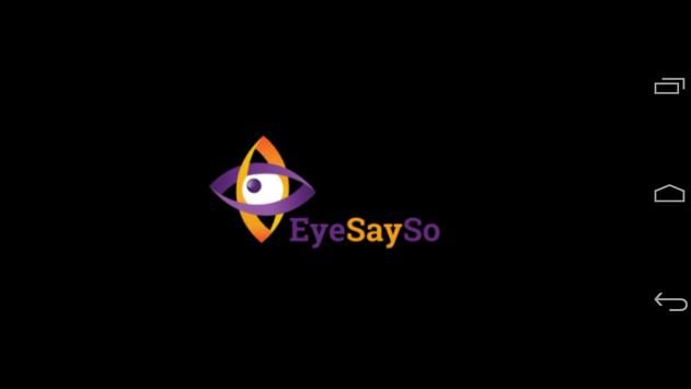 EyeSaySo - Ultimate Typing App poster