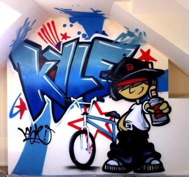 3D Graffiti Design Ideas screenshot 11