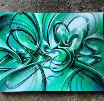 3D Graffiti Design Ideas screenshot 2