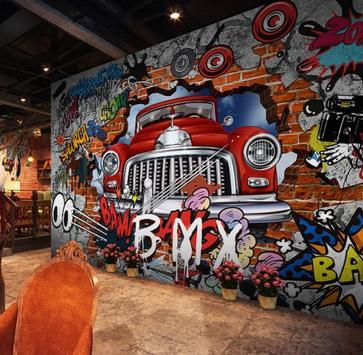 3D Graffiti Design Ideas screenshot 5