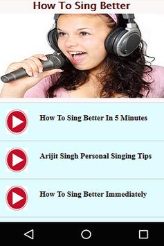 How to Sing Better poster