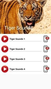 Tiger Sounds apk screenshot