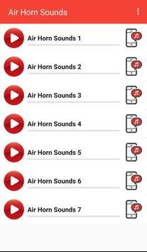 Air Horn Sounds poster