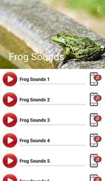 Frog Sounds apk screenshot