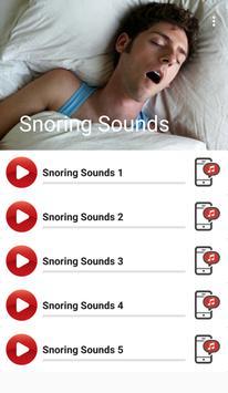 Snoring Sounds apk screenshot