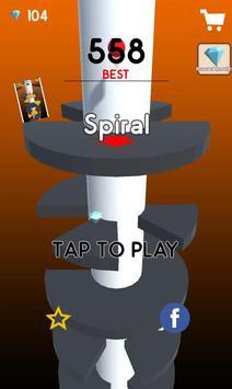 Helix Spiral Ball Pro poster