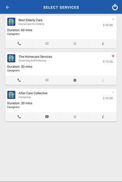 EZServiceCall screenshot 3