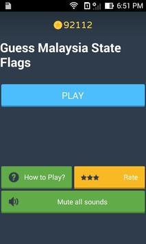Guess The Flag Malaysia States poster