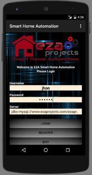 EZA SMART HOME AUTOMATION poster