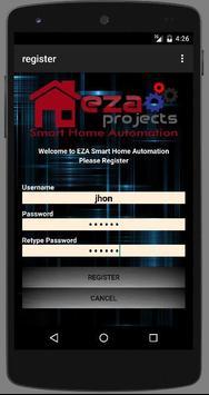 EZA SMART HOME AUTOMATION apk screenshot