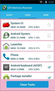 QR RAM BOOSTER apk screenshot