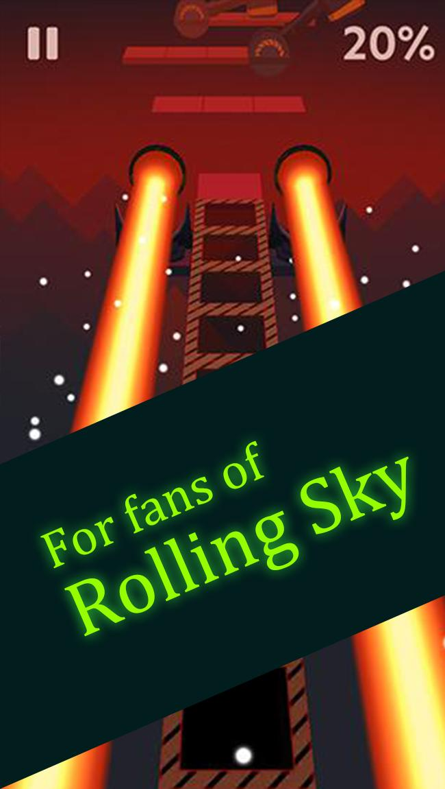 Guide for Rolling Sky poster
