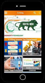 Efiling Income Tax screenshot 1