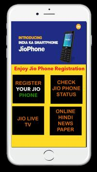 Free Jio Phone Registration screenshot 1