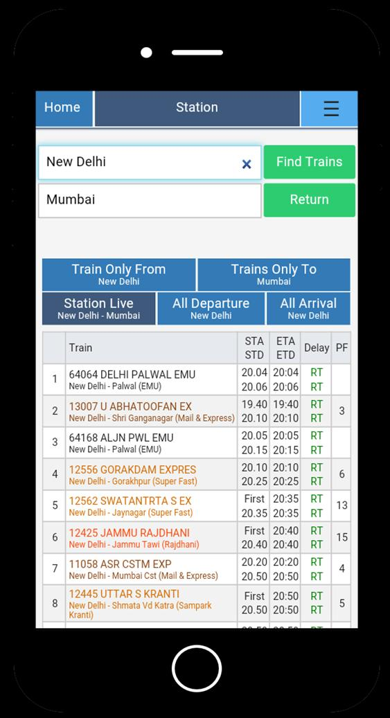 Live Train Running Status IRCTC Spoturtrain for Android - APK Download