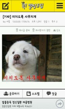이지데이 콕-유머이슈 커뮤니티 apk screenshot