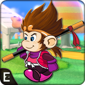 Super Kong Adventure Run: Side Scroller Games Free icon