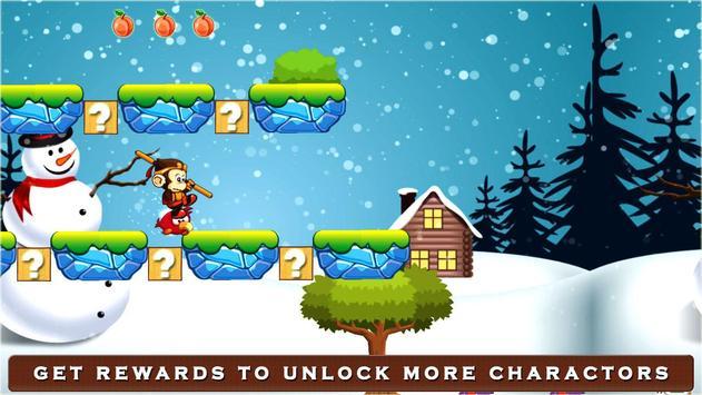 Super Kong Adventure Run: Side Scroller Games Free screenshot 11