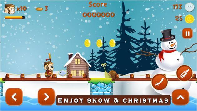 Super Kong Adventure Run: Side Scroller Games Free screenshot 9