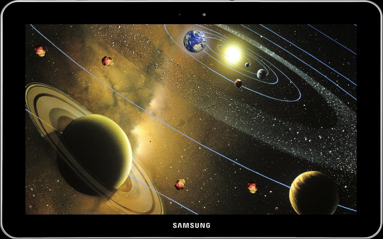 3D Solar System Live Wallpaper 3D Screensaver Free for ...