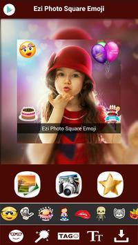 Square Emoji Sticker Pro poster
