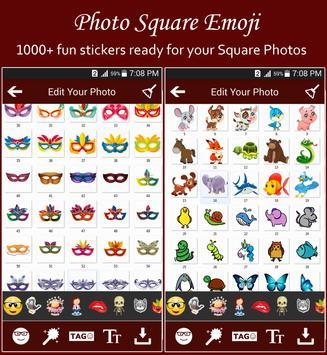 Square Emoji Sticker Pro screenshot 14