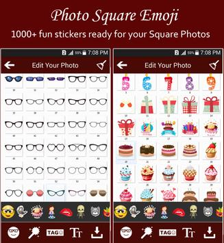 Square Emoji Sticker Pro screenshot 15