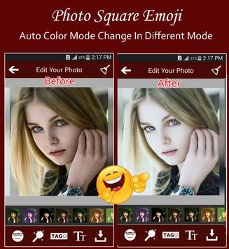 Square Emoji Sticker Pro screenshot 1