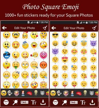 Square Emoji Sticker Pro screenshot 20