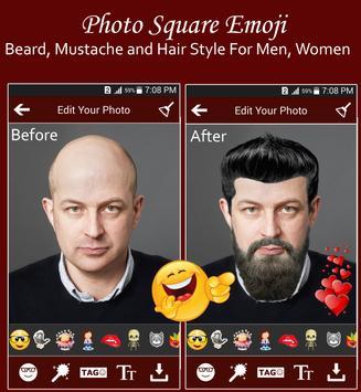 Square Emoji Sticker Pro screenshot 2