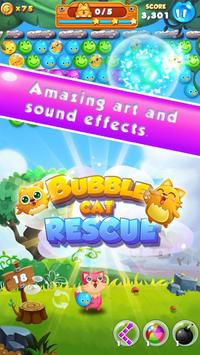 Bubble Cat Rescue ポスター