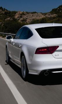Wallpapers Audi A7 poster