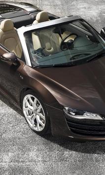 Themes Audi R8 Spyder apk screenshot