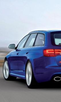 Themes Audi RS6 poster