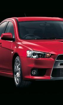 Themes Mitsubishi Lancer EvolX apk screenshot