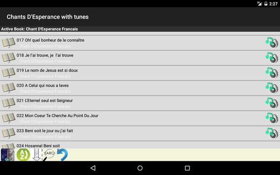 Chants D'Esperance with Tunes screenshot 5