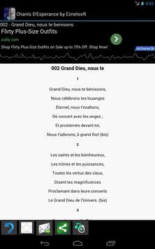 Chants D'Esperance with Tunes screenshot 12