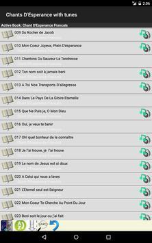 Chants D'Esperance with Tunes screenshot 1